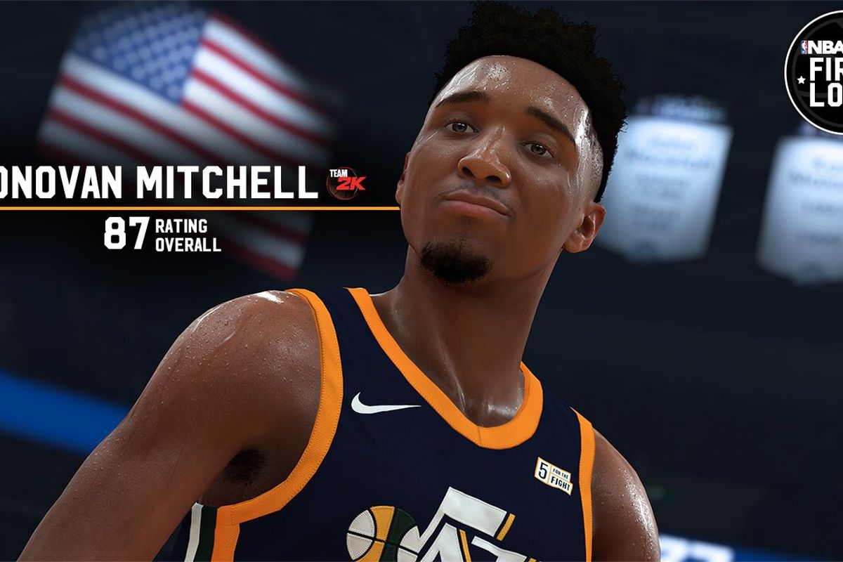 59e8cde7ce6 Donovan Mitchell s dunk rating gets a boost in NBA 2K19 - SLC Dunk
