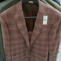 Barneys label cashmere blend sportscoat, $2949