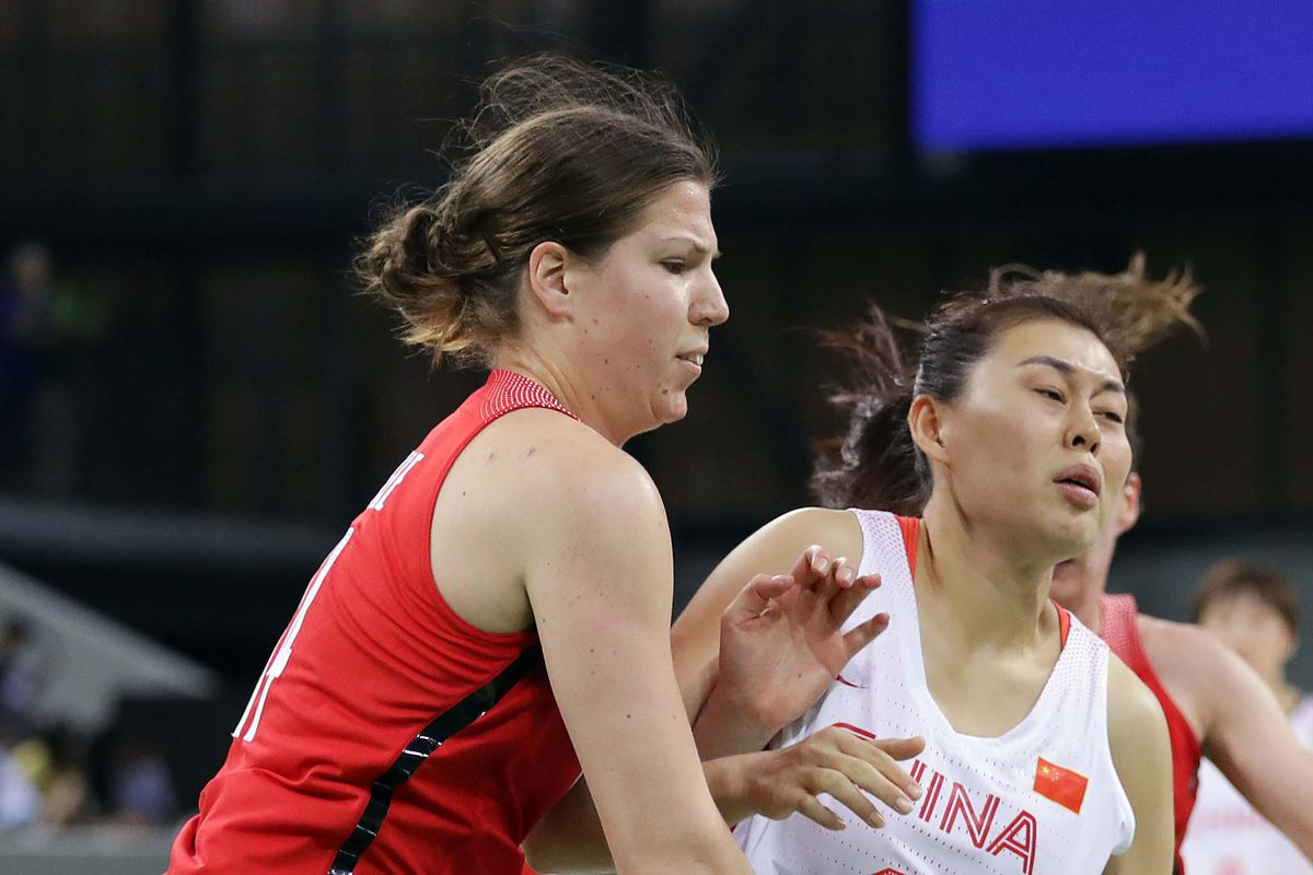 Olympics: Basketball-Women's Team-Preliminary Round Group B-CHN vs CAN