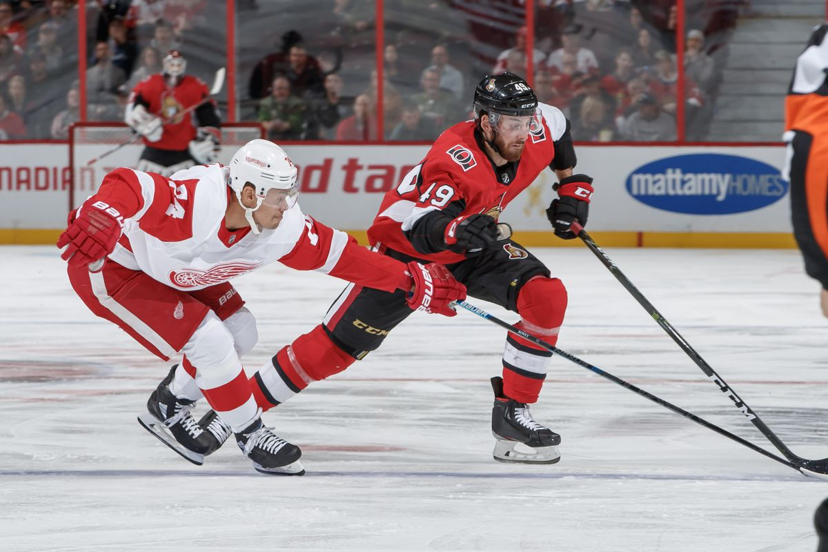 Morning Skate: Senators at Red Wings - Preview, How to Watch
