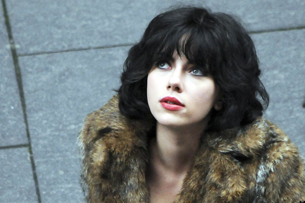 Under the Skin promotional images (A24 Films)