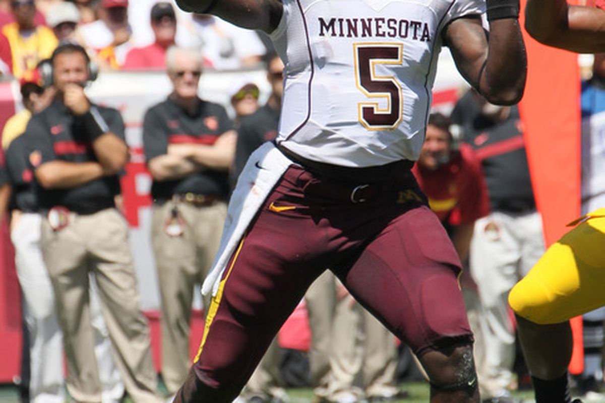 2012 Minnesota Football Preview  Ceilings And Track Records ... eed558543