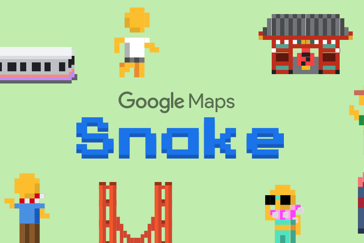 Google Maps adds Snakes game in app for April Fools' Day - The Verge