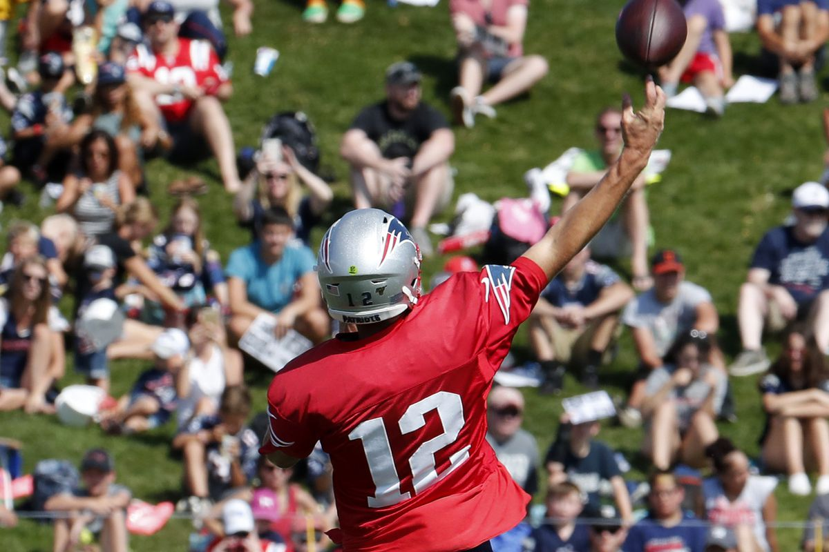 NFL: AUG 02 Patriots Training Camp
