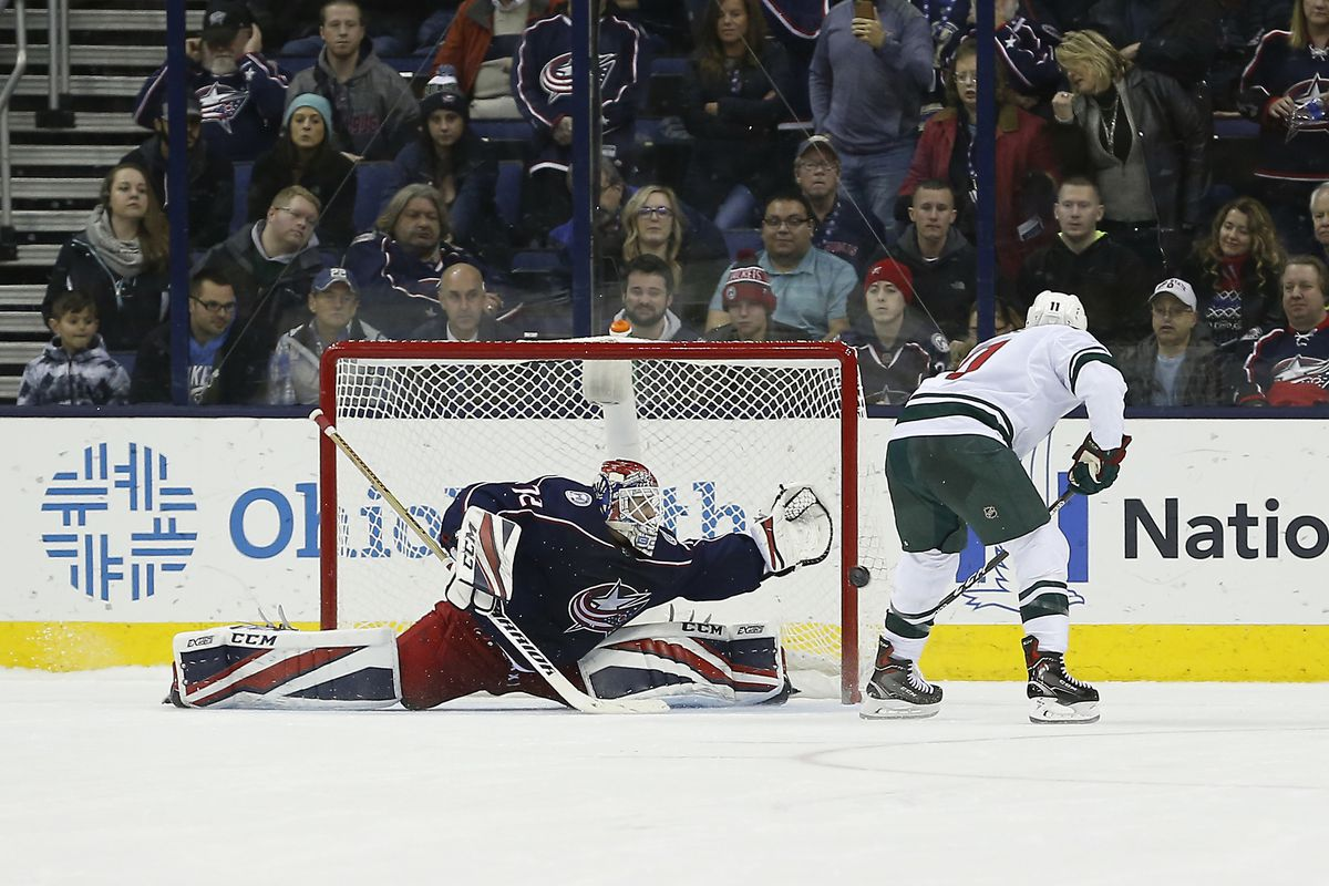 NHL: Minnesota Wild at Columbus Blue Jackets