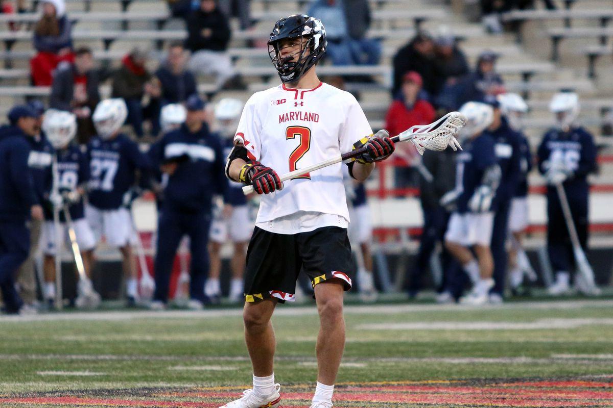 Maryland lacrosse Bubba Fairman vs. Penn State