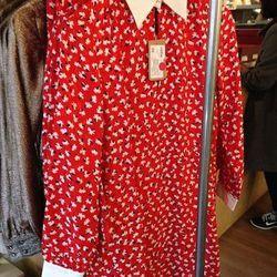 Vanessa Seward x A.P.C. dress, $333