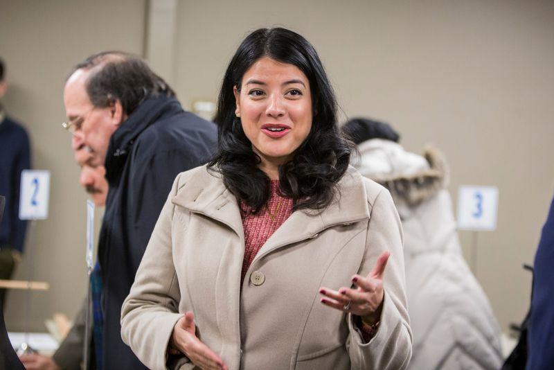 Chicago City Clerk Anna Valencia