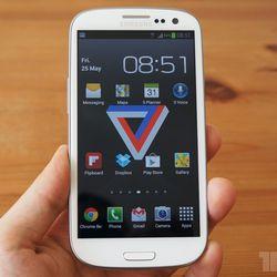 "<a href=""http://www.theverge.com/2012/5/25/3042640/samsung-galaxy-s-iii-review"">Samsung Galaxy S III</a>"
