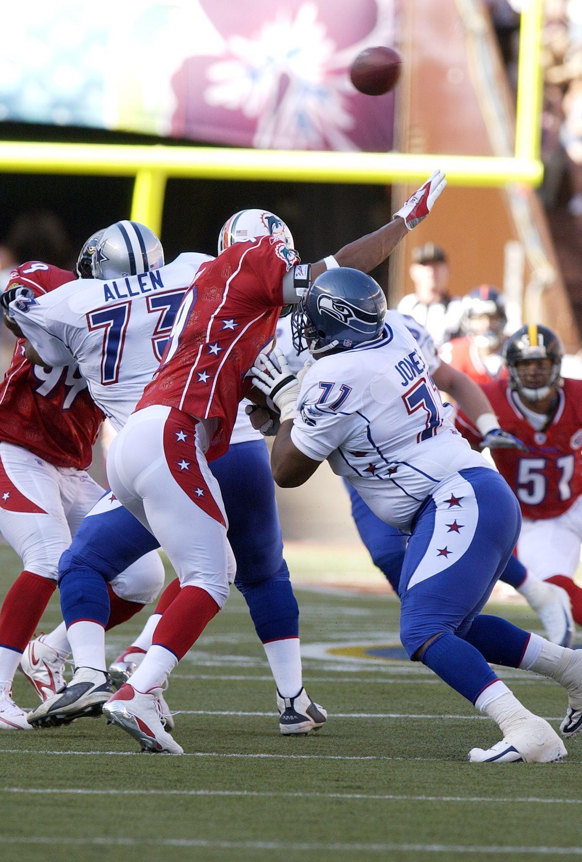 2007 NFL Pro Bowl Game - AFC v NFC
