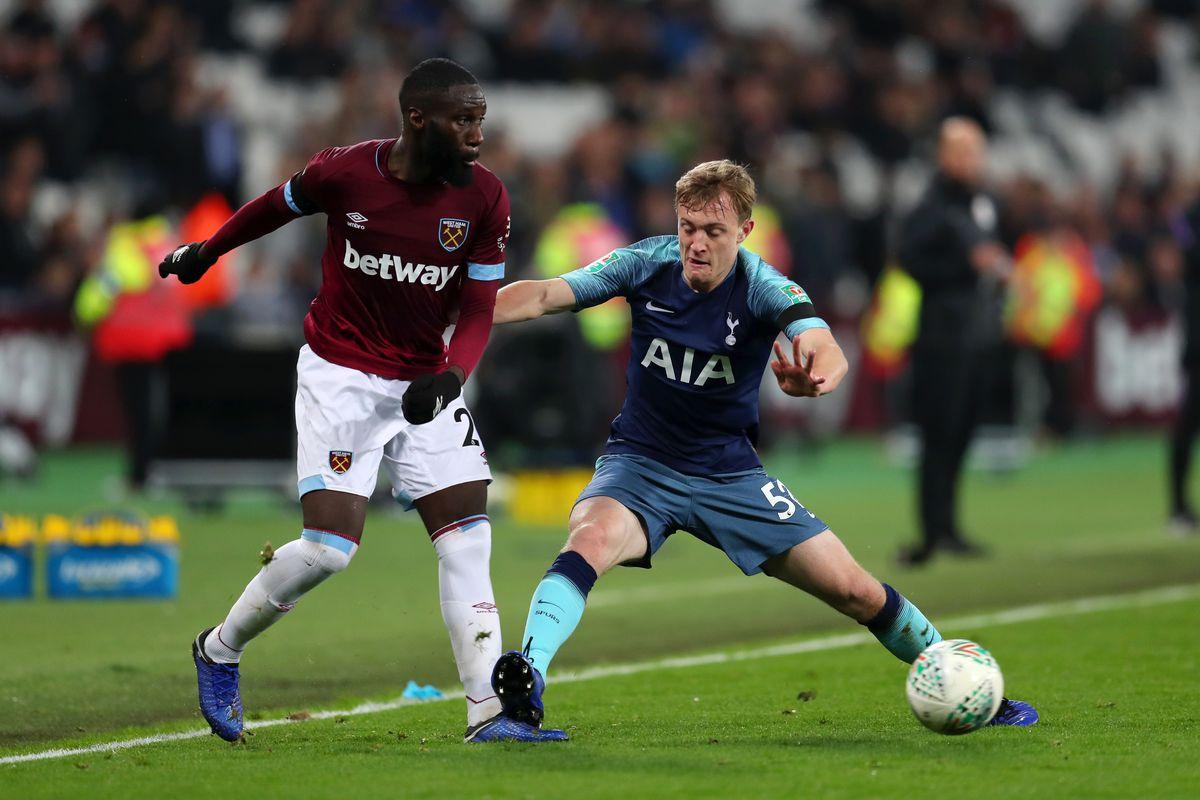 West Ham United v Tottenham Hotspur - Carabao Cup Fourth Round