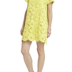 """Diane Oversized Lace Dress, <a href=""""http://www.bcbg.com/Diane-Oversized-Lace-Dress/IYA65A88-B3A,default,pd.html?dwvar_IYA65A88-B3A_color=B3A&cgid=dresses-by-category-cocktail#start=10"""">BCBG</a>, $298"""