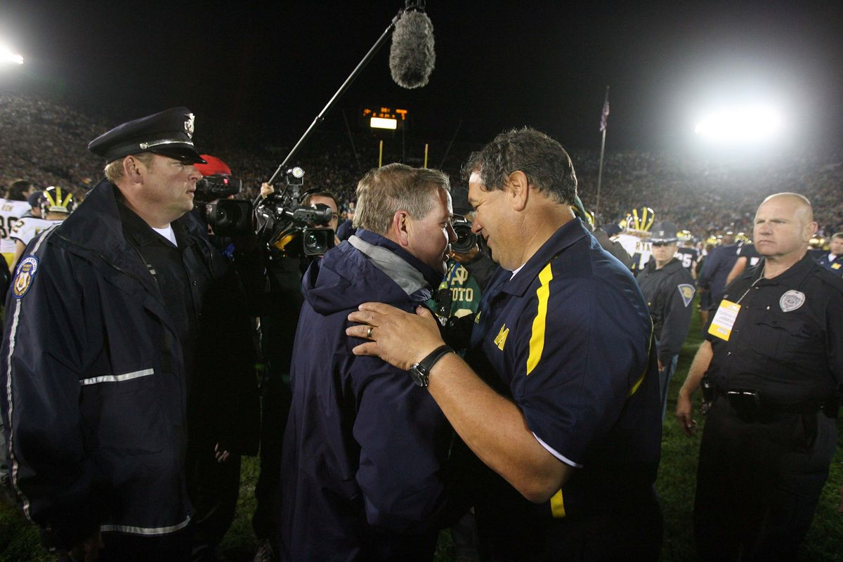 Rivals don't shake hands--rivals got to hug.