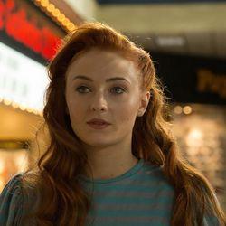 "Sophie Turner is Jean Grey in ""X-Men: Apocalypse."""