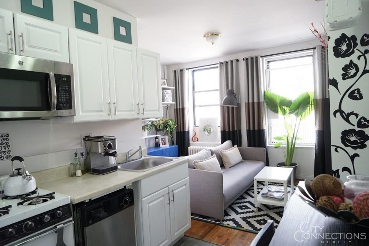 Cute east village one bedroom is a steal at 2 150 month curbed ny for Compton apartments for rent 800 month 2 bedrooms