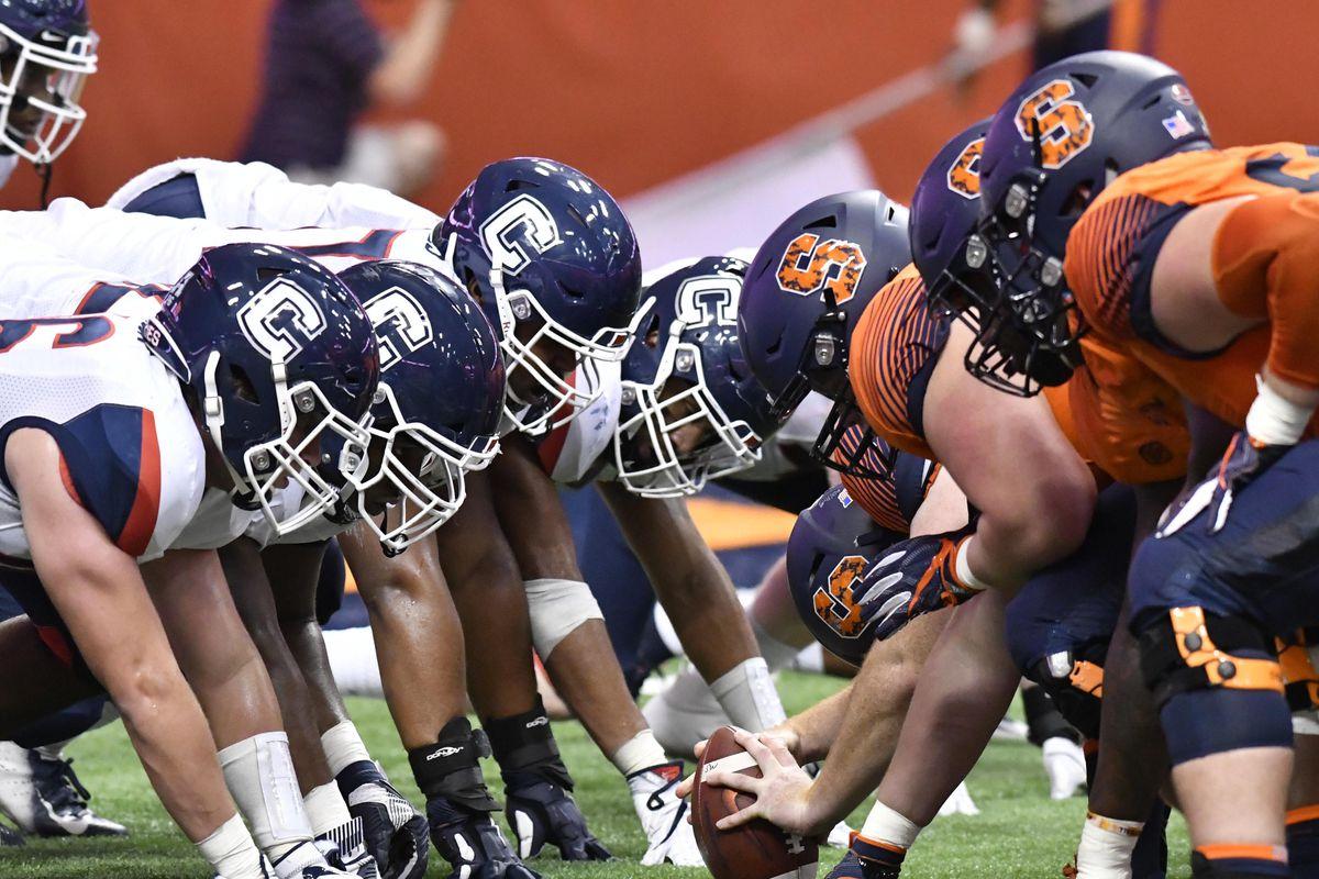 NCAA Football: Connecticut at Syracuse