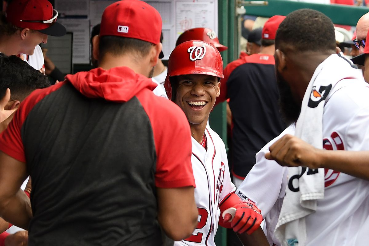 Wire Taps Washington Nationals Sweep Marlins Prepare For