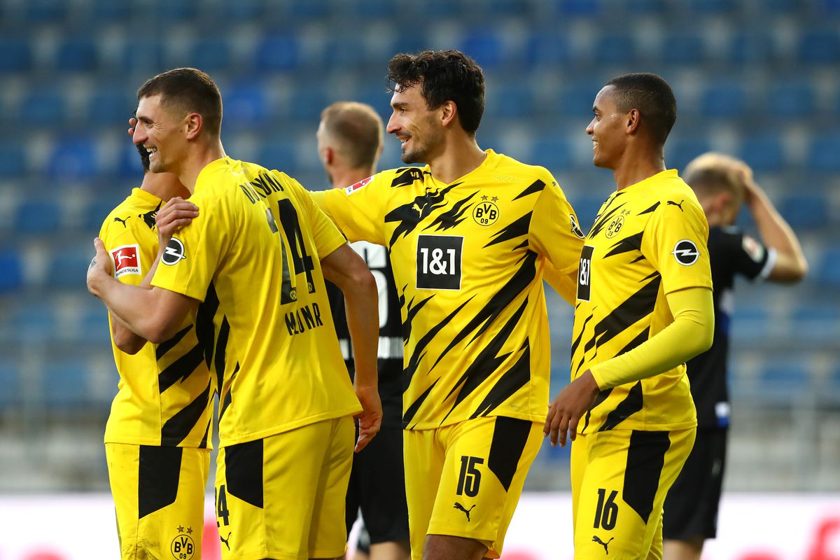 Two Questions From Borussia Dortmund S 2 0 Win Over Arminia Bielefeld Fear The Wall