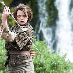 Season 4: Arya, in need of a brush and a manicure.
