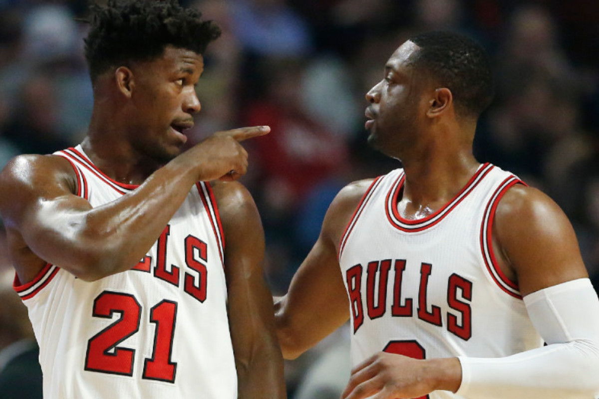 Jimmy Butler Dwyane Wade Instagram Fight Update Two Seem To Be Friends Again Chicago Sun Times