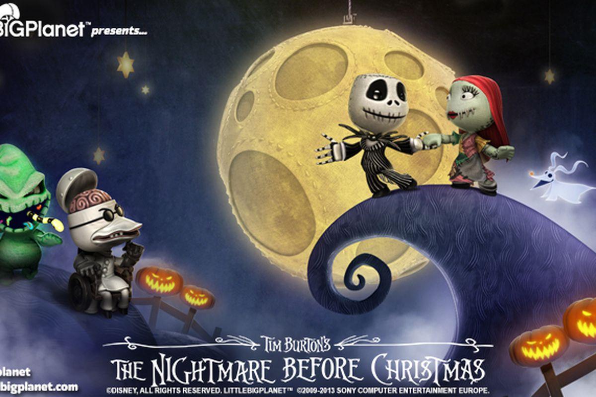 The Nightmare Before Christmas\' invading LittleBigPlanet next week ...
