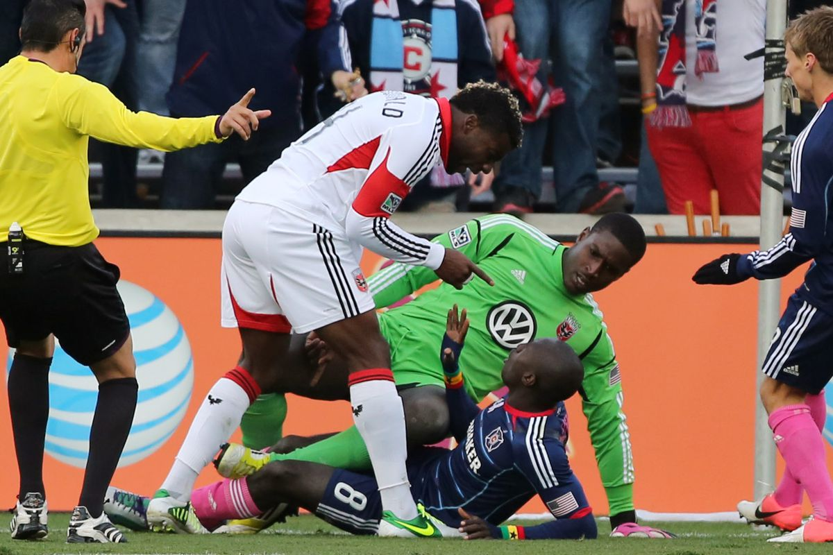 D.C. United's defense is not to be trifled with.