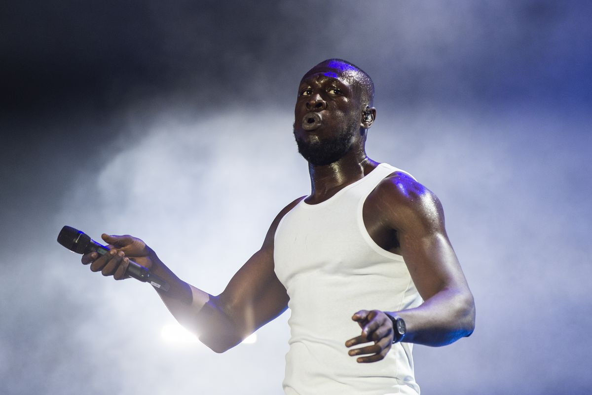 Stormzy visited Mayfair's Sexy Fish this week