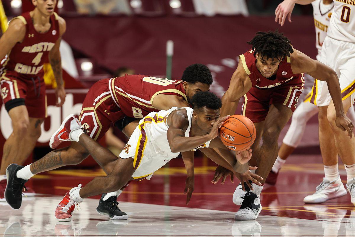 NCAA Basketball: Boston College in Minnesota