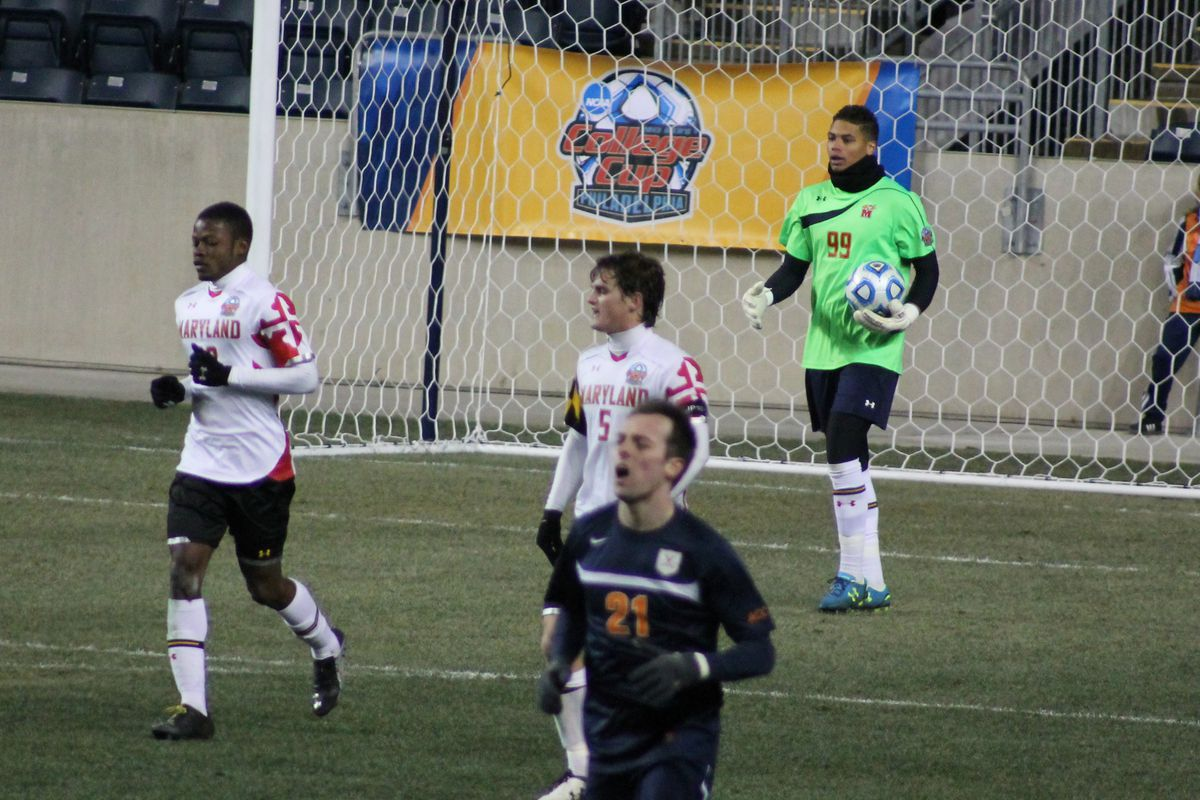 Zack Steffen in the 2013 College Cup at PPL Park