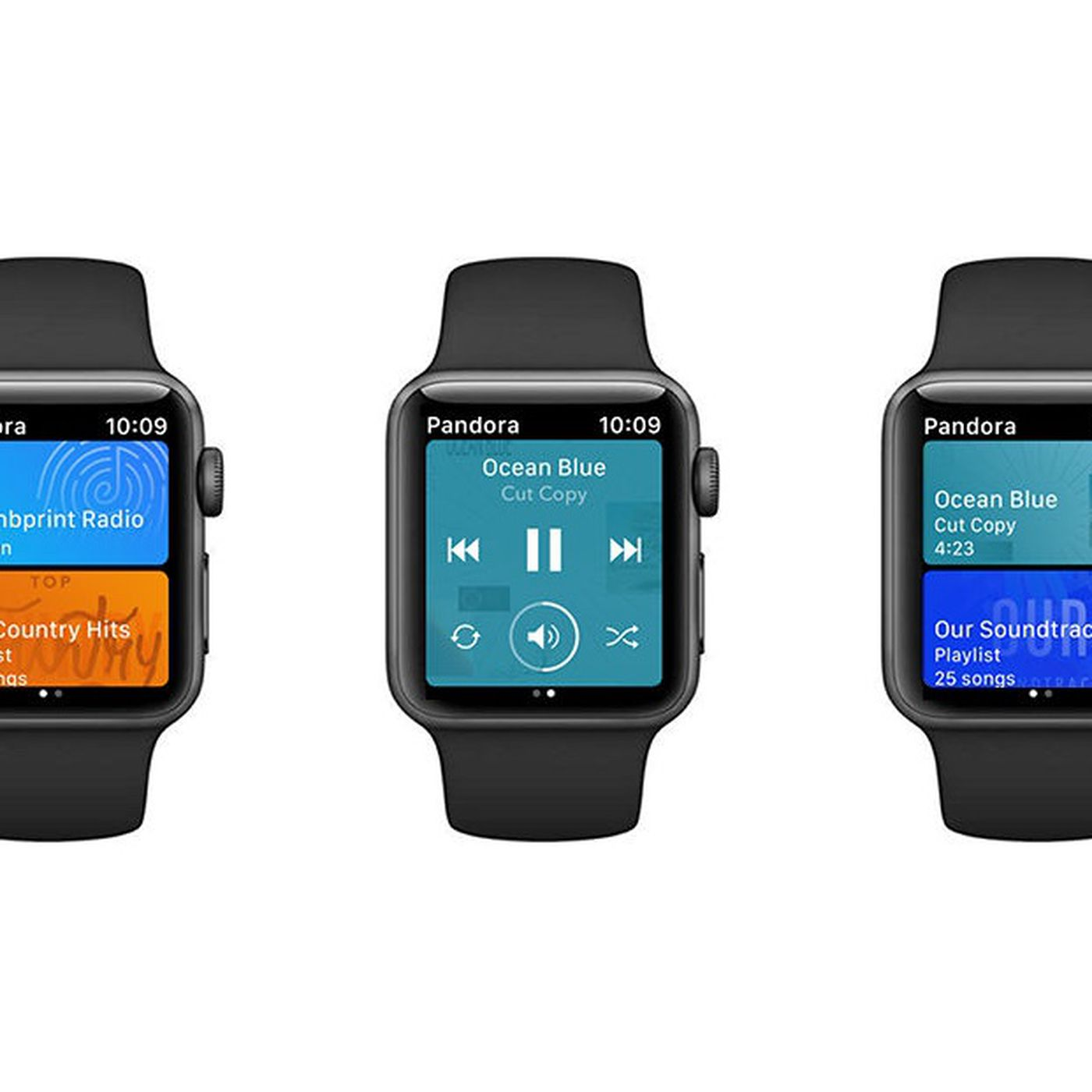 can you install pandora on apple watch