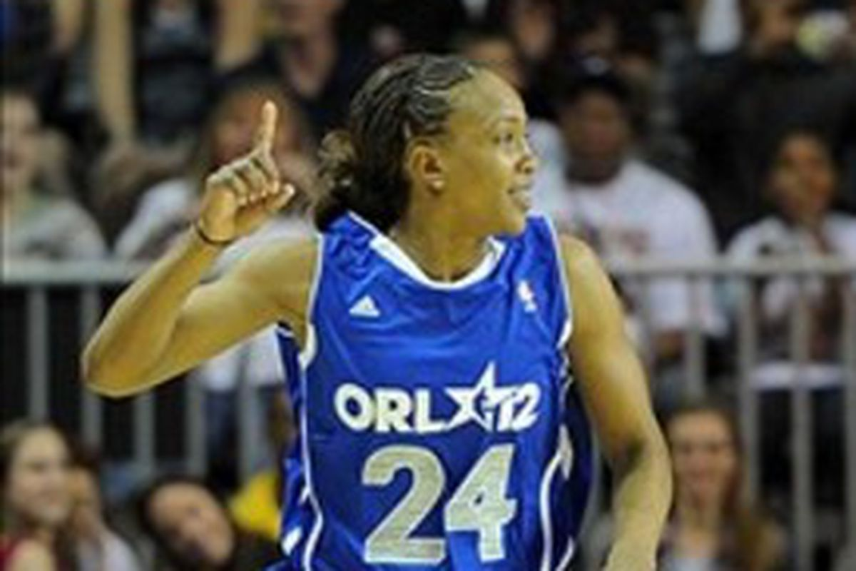 Tamika Catchings is back in the NBA All-Star Celebrity Game for the fourth time.