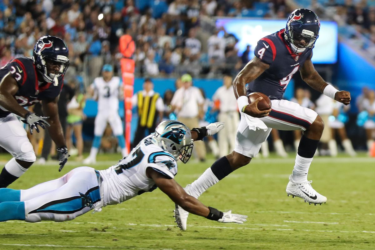 f7a7aded Texans vs. Panthers 2017: Final score and highlights from Carolina's ...
