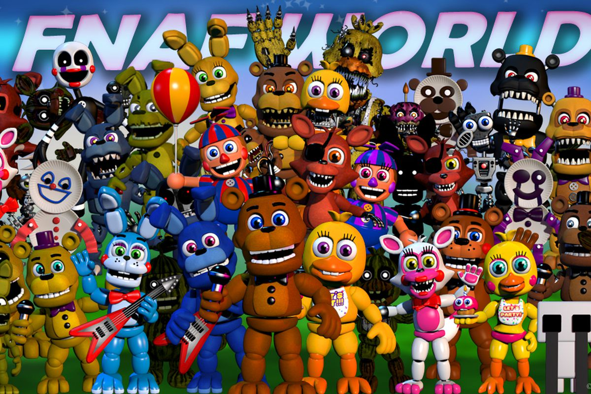 Five Nights at Freddy's World pulled from Steam - Polygon