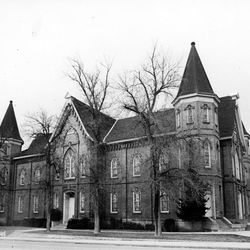 The Provo Tabernacle in the 1970s.