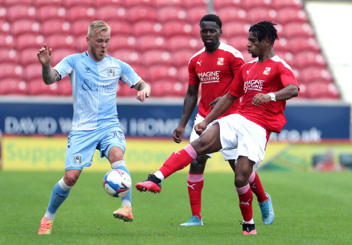 Swindon Town v Coventry City - Preseason Friendly - County Ground