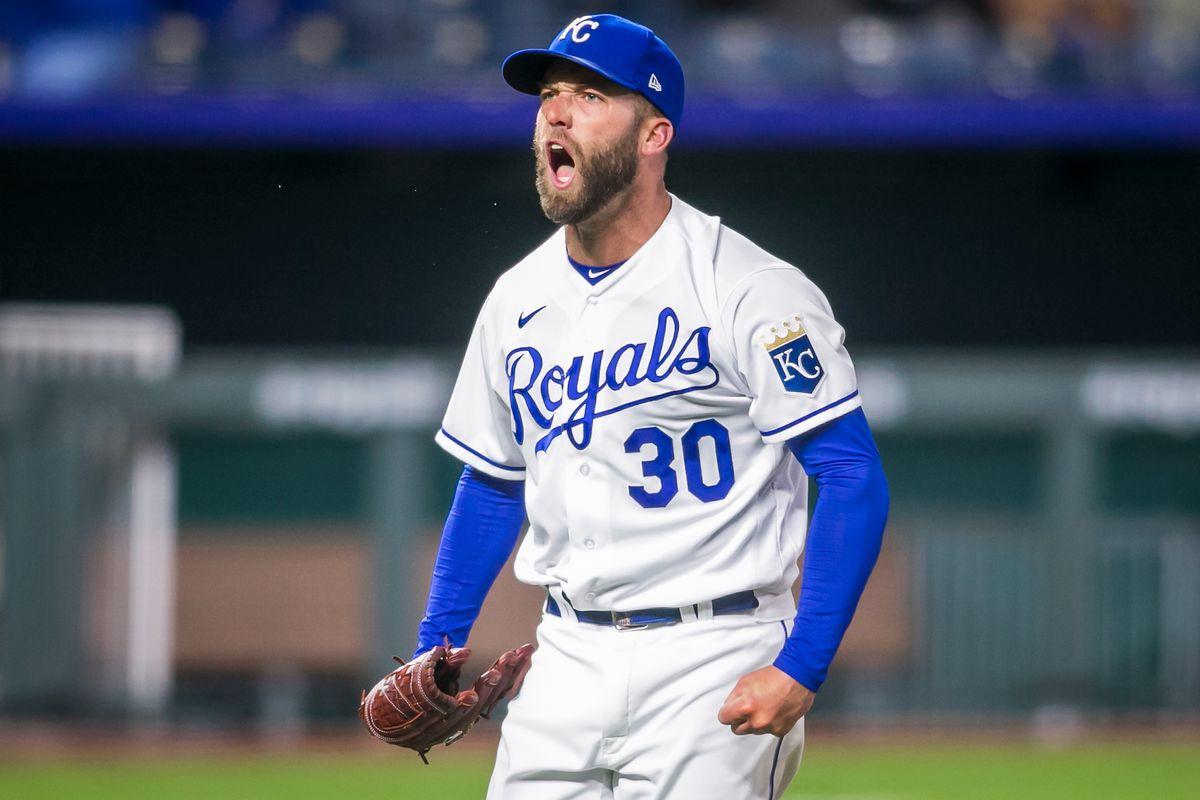 MLB: APR 13 Angels at Royals