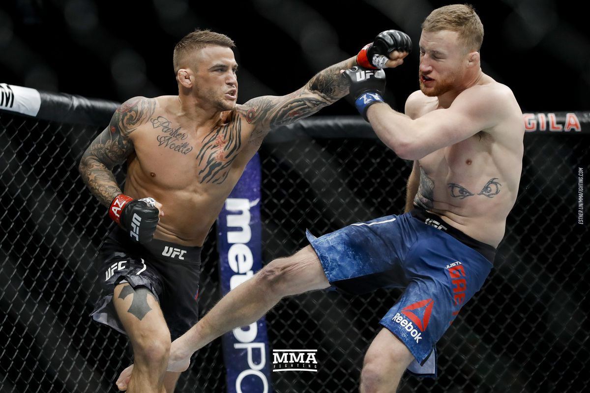 Ufc on fox 29 salaries dustin poirier cashes 170000 for fight of dustin poirier defeated justin gaethje at ufc on fox 29 esther lin mma fighting stopboris Images