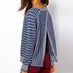 "<b>ASOS</b> Sweater with Stitch Detail and Open Back, <a href=""http://us.asos.com/ASOS-Sweater-With-Stitch-Detail-And-Open-Back/zf7nw/?iid=2609766&Rf-400=53&mporgp=L0FTT1MvQVNPUy1KdW1wZXItV2l0aC1TdGl0Y2gtRGV0YWlsLUFuZC1PcGVuLUJhY2svUHJvZC8."">$61.57</a>"