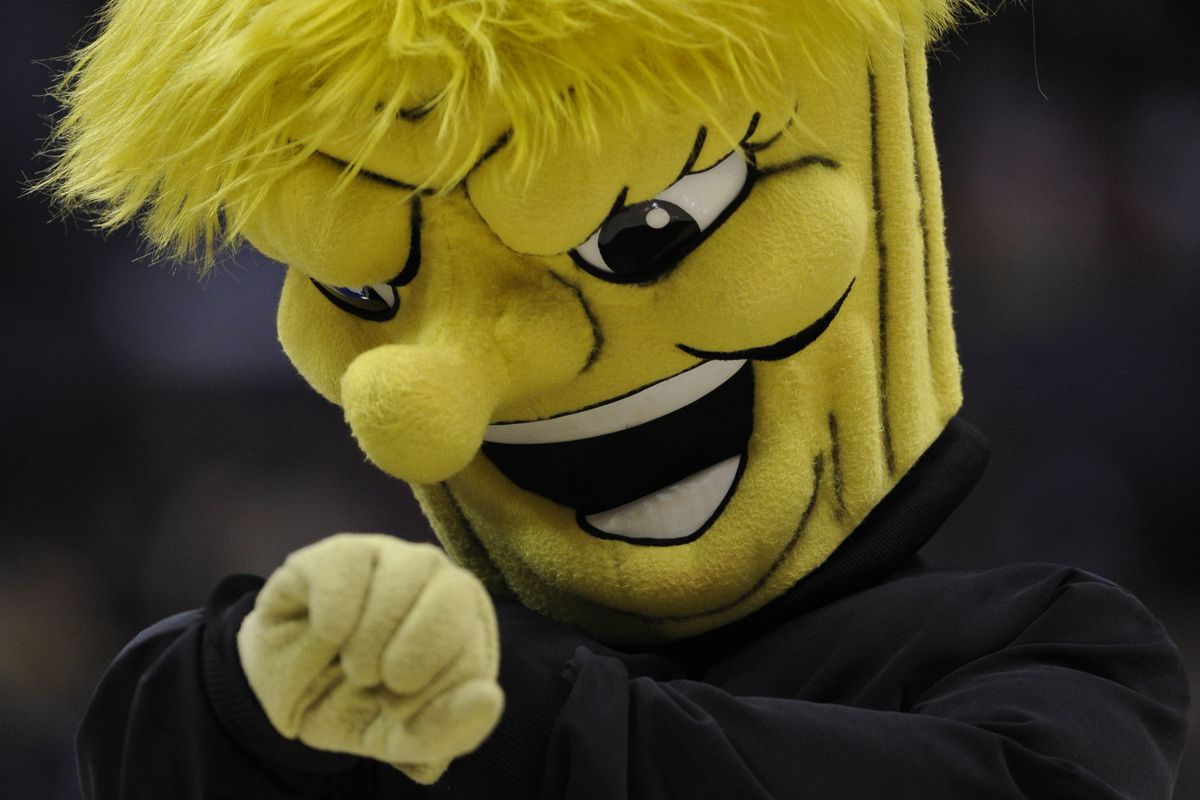 Wichita State's WuShock the Shocker: Have you seen the nose on that thing?