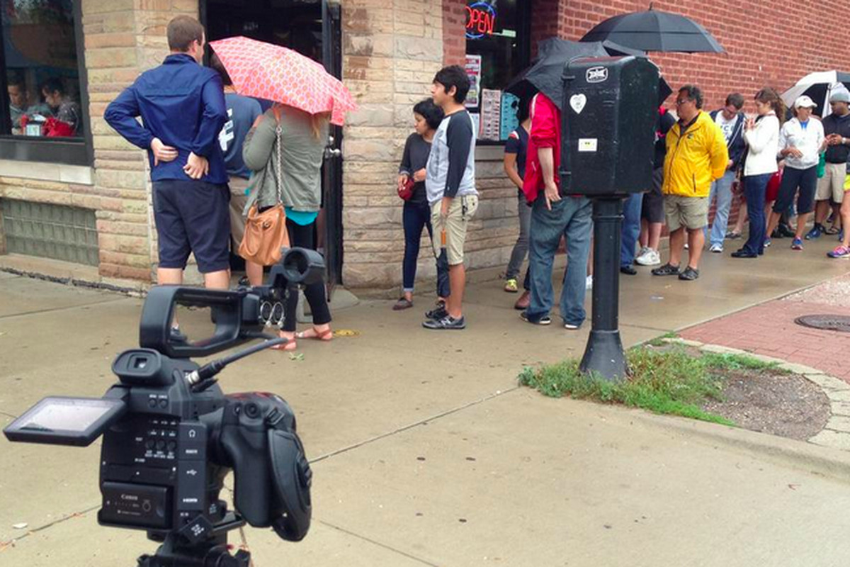 Hot Doug's The Movie filming