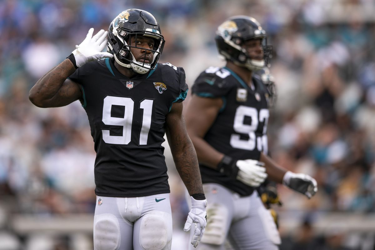 41b6bfe6 Jaguars' Yannick Ngakoue could be targeting $21 million annually ...