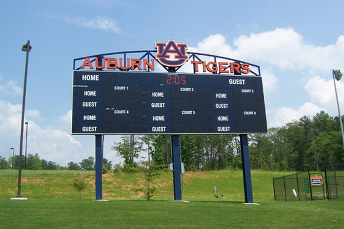 Auburn looks to win four games on this scoreboard this weekend.