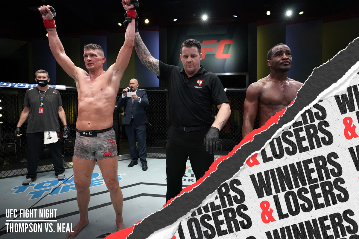 Ufc Vegas 17 Thompson Vs Neal Winners And Losers Bloody Elbow