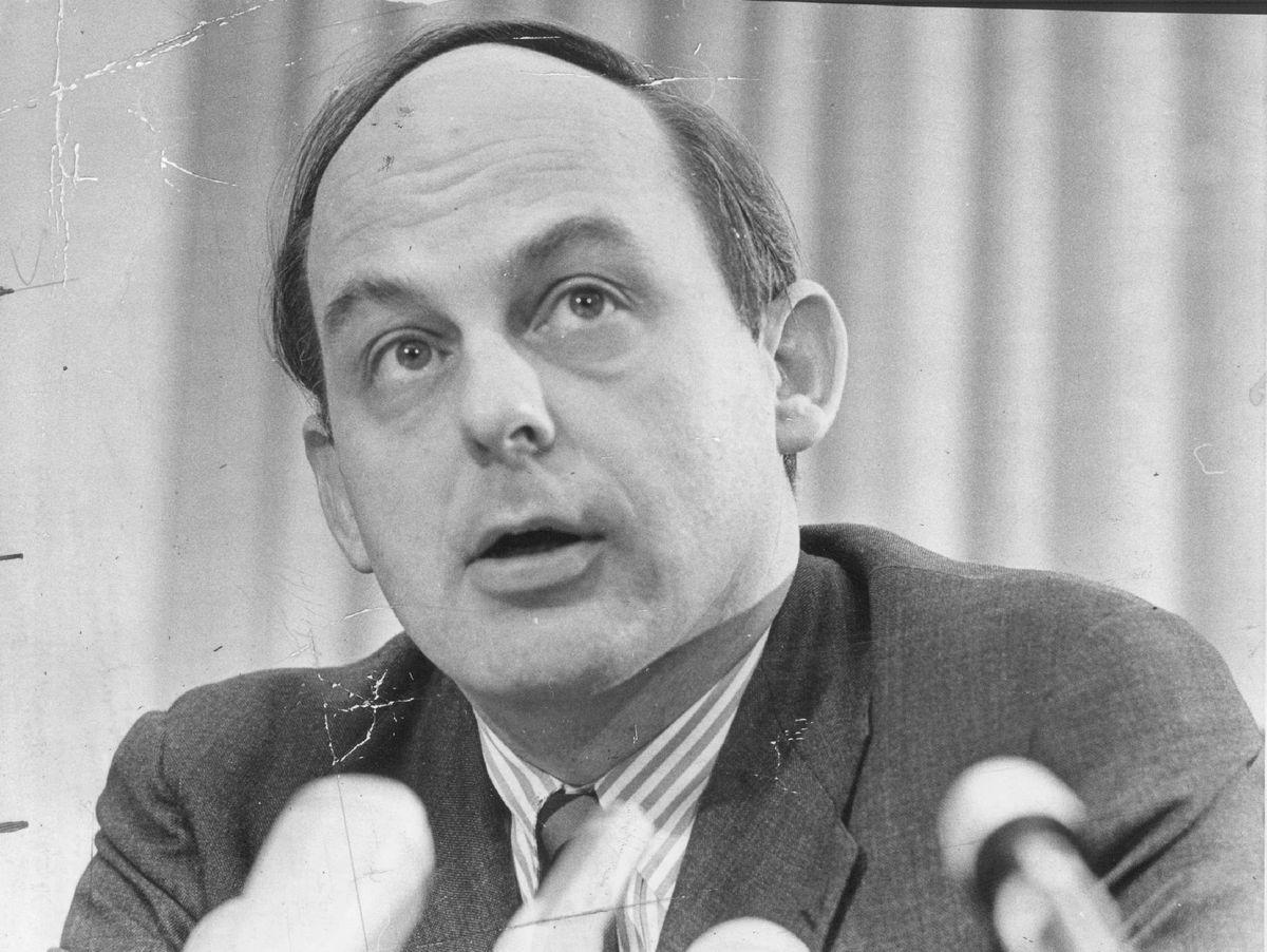 Sen. Adlai Stevenson in 1973.