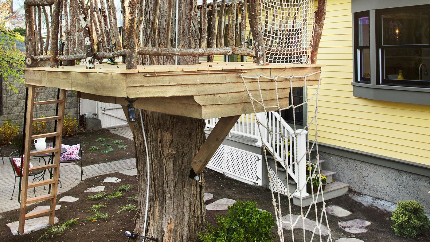 Picture of: Tree Fort How To Build Video Instructions This Old House