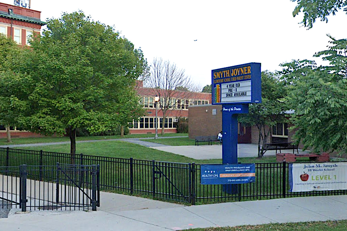 Pepper spray was discharged Feb. 26, 2020, at Smyth Elementary, 1059 W. 13th St., sending several students to hospitals.