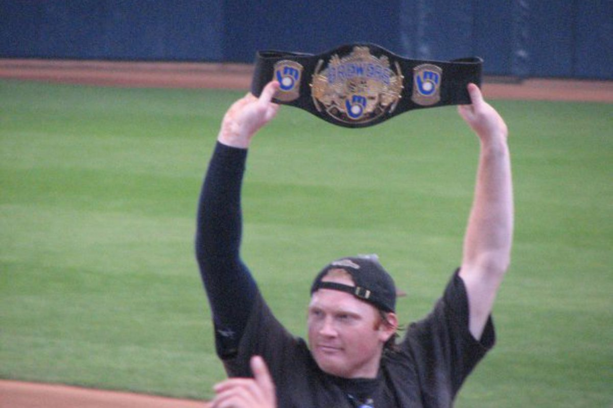 Here's a favorite memory of Seth McClung, as photographed by tristarscoop.