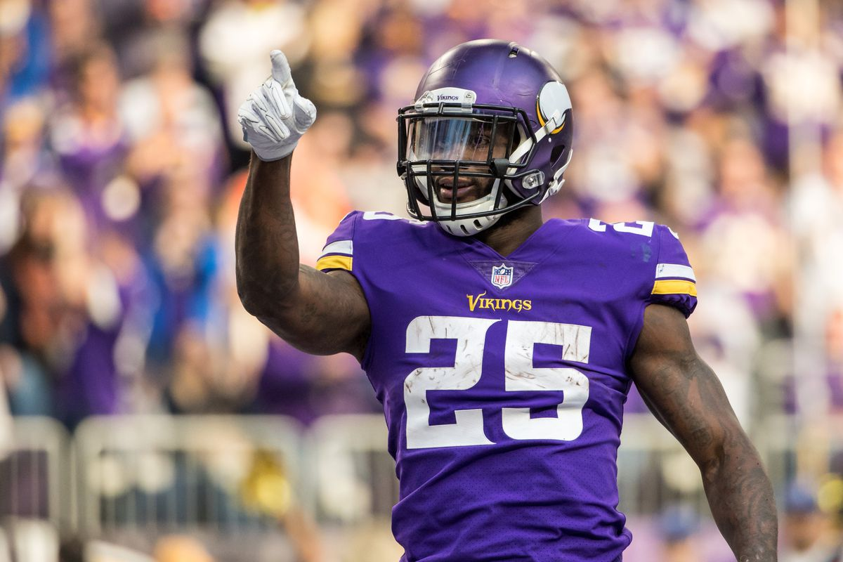 best service 58e05 62514 Latavius Murray nominated for FedEx Ground Player of the ...