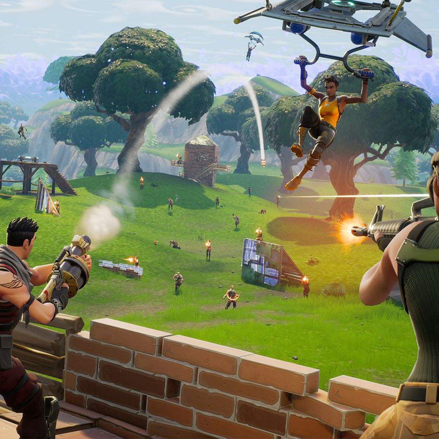 microsoft suggests fortnite ps4 vs xbox one cross play could happen - fortnite ps4 crossplay with pc