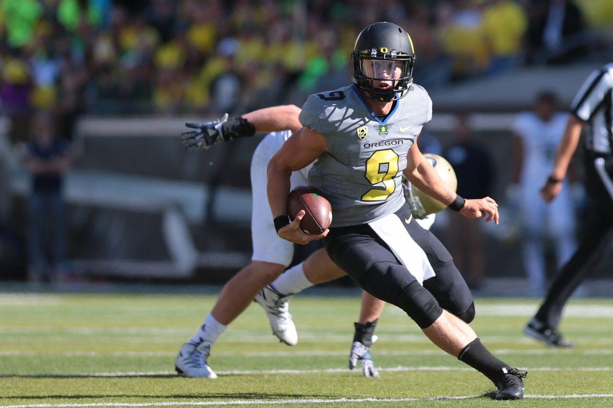 NCAA Football: UC - Davis at Oregon